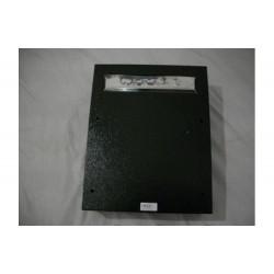 Buzon Para Reja Negro Grande 240x380