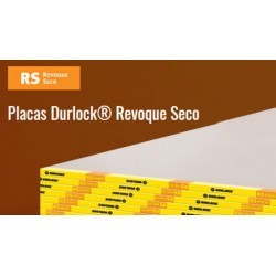 Placa Durlock Revoque Seco 1.20x2.40