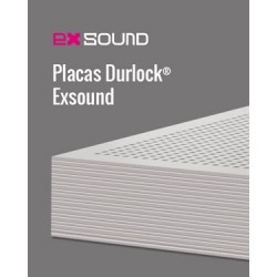 Placa Durlock Exsound 12.5mm 1.20x2.40