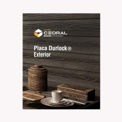 Placa Durlock Cedral 8mm (3.6x0.2 )