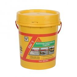 Sika 3 Acelerante De Frague X 20 Kg
