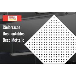 Cielo Raso Deco Metallic Circ Vert.2516 0.61 X 0.61