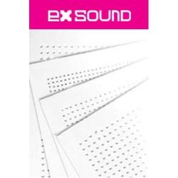 Placa Durlock Exsound Circular Perf. Comp. 12.5mm