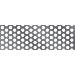 Chapa Perforada Red 4mm 20 (1x2)